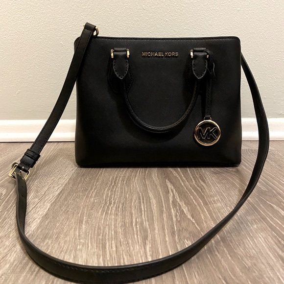 Micheal Kors Camille Small Leather Satchel